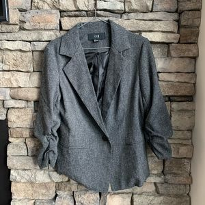 F21 | grey marled blazer